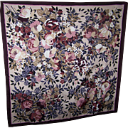 Lovely  Mixed Floral Print Ladies Fashion Scarf Wearable ART