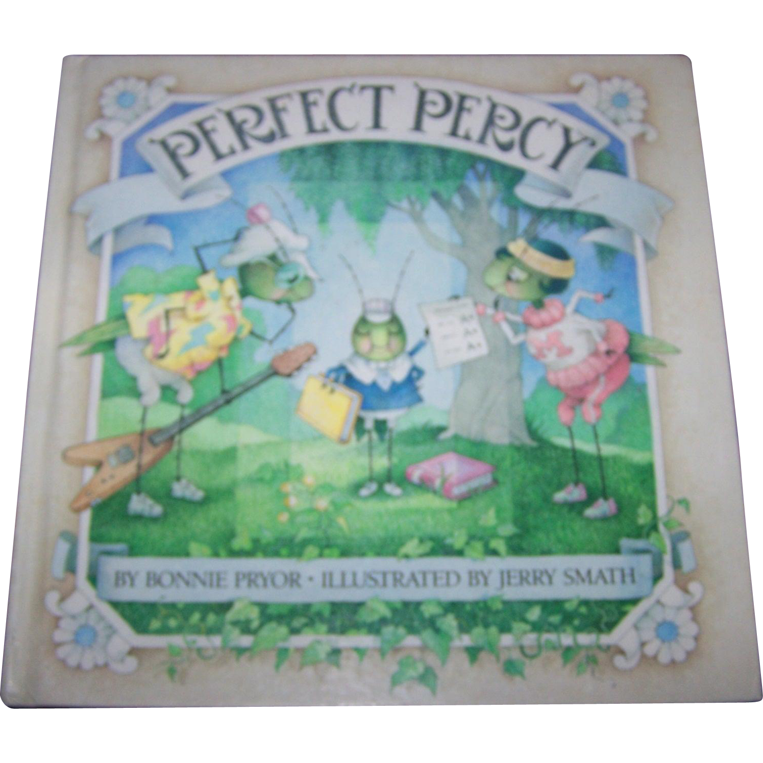 Hard Cover Children's Book Perfect Percy By Bonnie Pryor Simply Charming