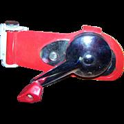 Vintage Swing Away Utility  #42  Metalware Red Wall Mount Can Opener Toronto Canada