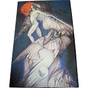Artisit Susan Seddon Boulet Print to Board Wall Plaque Mar. 82 Wall Art Home Decor Icarus And Daedelus