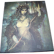 Artist Signed Susan Seddon Boulet Print To Board Wall Plaque APR 84