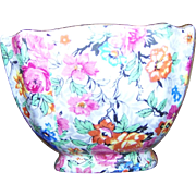 Made in England BCM Lord Nelson Ware  Marina Chintz Open Sugar Bowl Replacement
