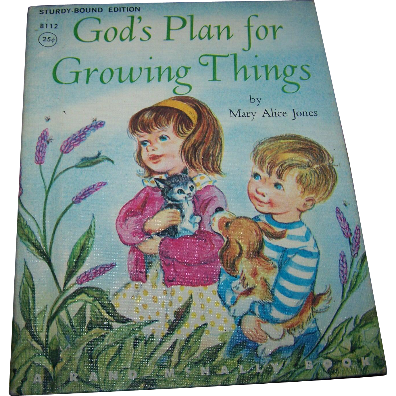A Sweet Little Children's Book God's Plan for Growing Things by Mary Alice Jones
