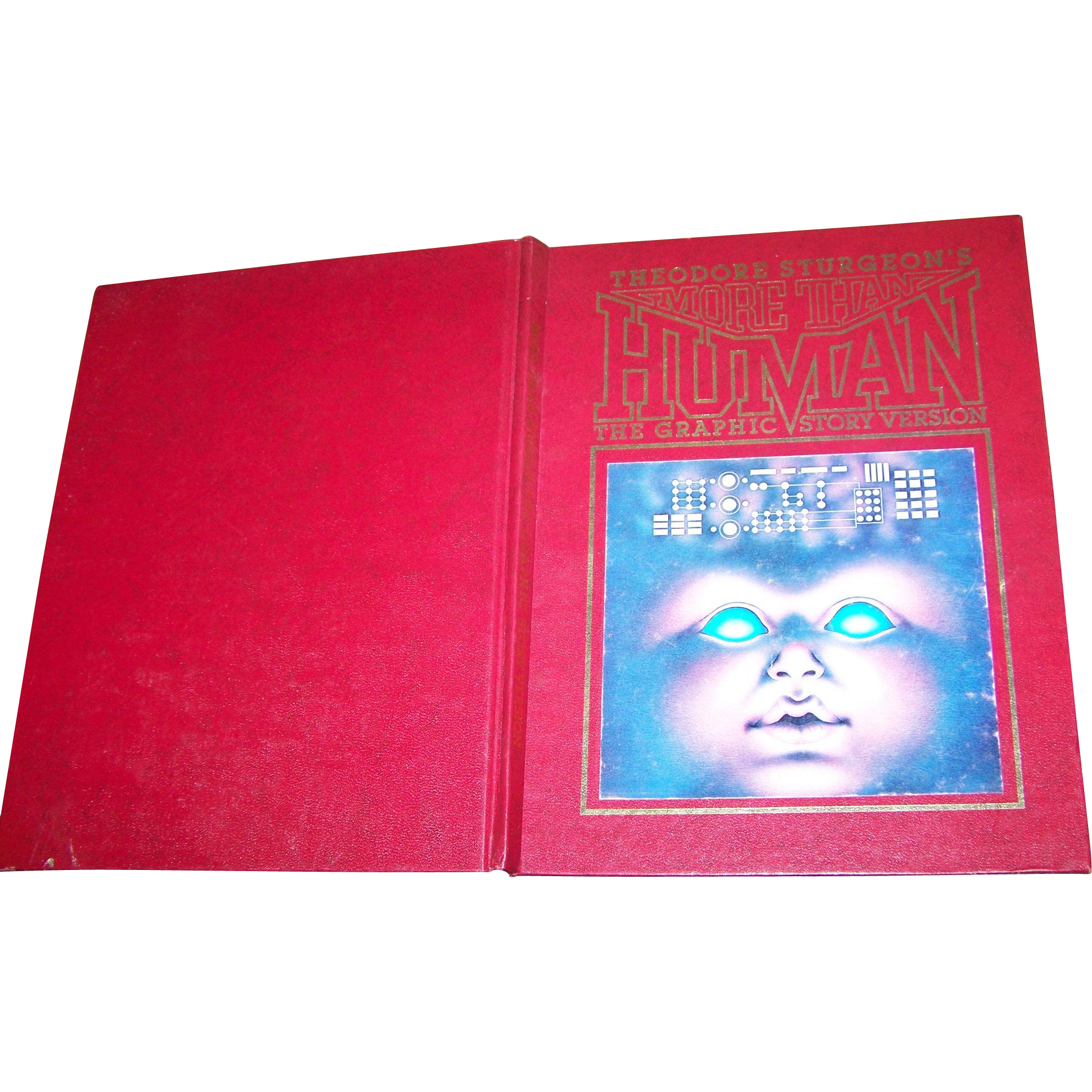 Hard Cover Book Theodore Sturgeon's More Than HUMAN The Graphic Story Version 1978 Signed