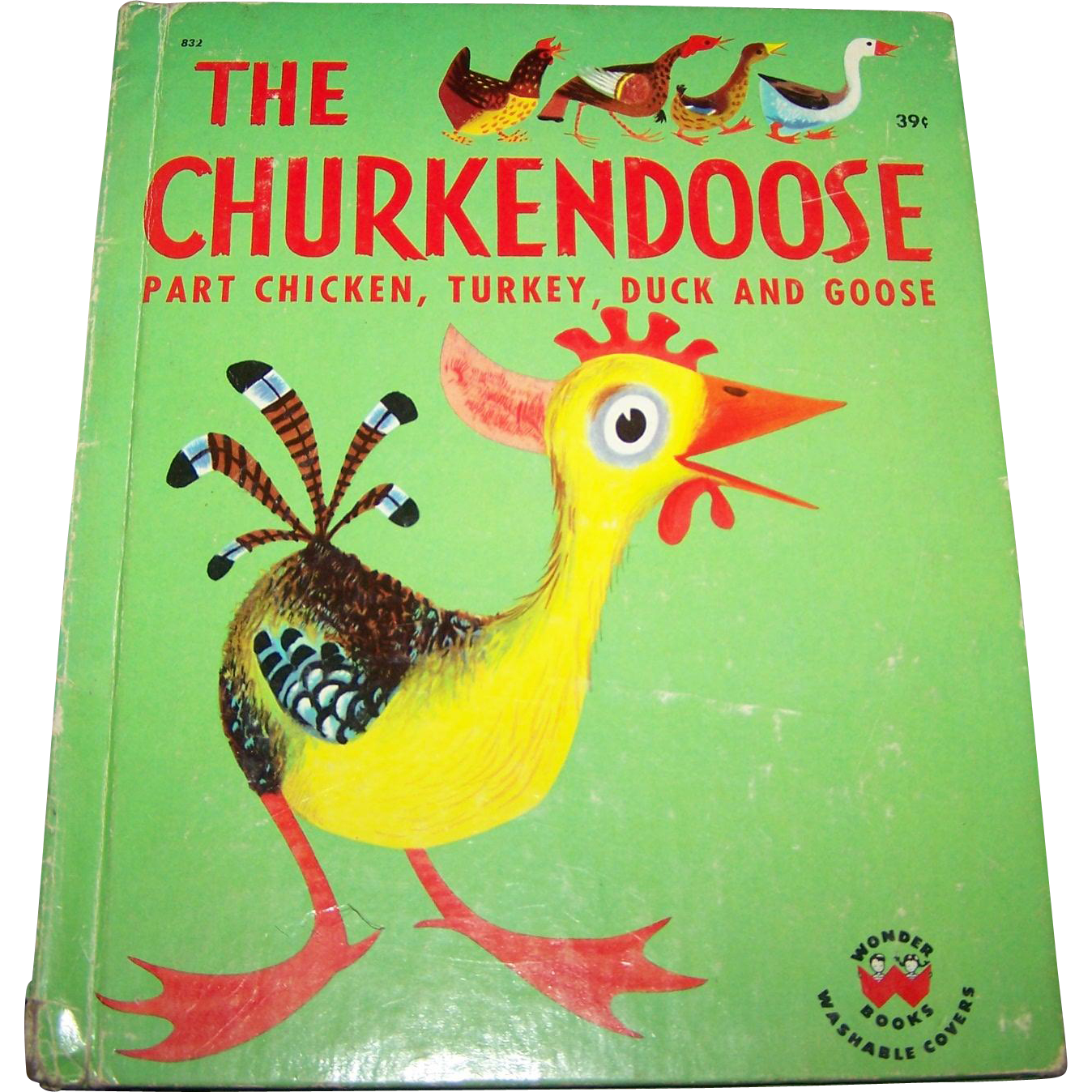 A Rare Find Hard Cover Collectible Childrens Book The  Churkendoose  by Ben Ross Berenberg