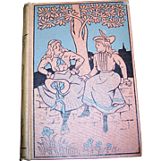 Collectible Vintage Hard Cover Book Alice In Wonderland and Through The Looking Glass Mershon Publishing Company
