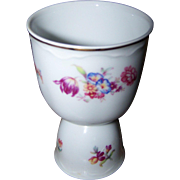 Lovely Vintage Porcelain Double Eggcup Eggcup Bavaria Germany Floral Pattern