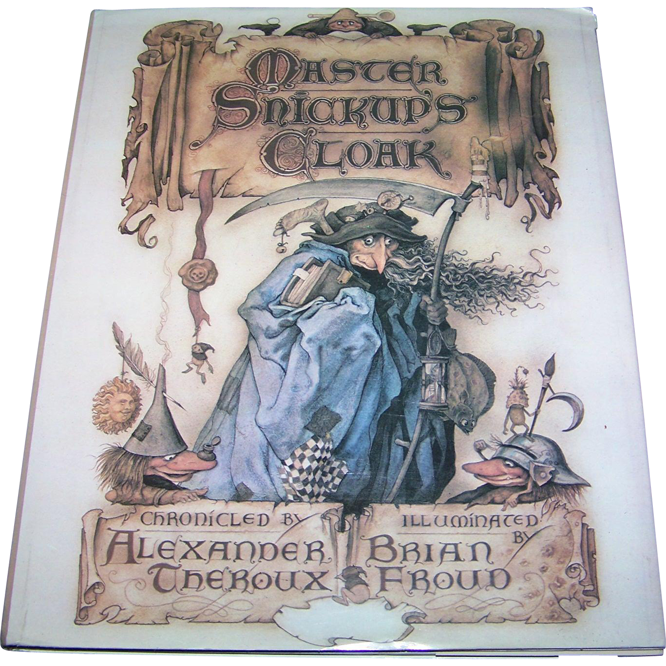 Master Snickup's Cloak Hard Cover Children's Book First U.S. Edition 1979
