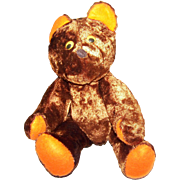 Sweet Vintage Collectible Hand Crafted Plush Style Teddy Bear Looking for a Forever Home