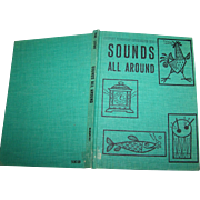 School Ex Library Reader Children's Illustrated Book Sounds All Around