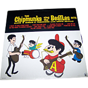 Vinyl Record LP The Chipmunks Sing The Beatles Liberty  LN510177 33 1/3 RPM