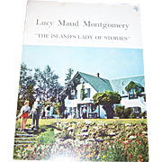 "Soft Cover Paper Back  Booklet  Lucy Maude Montgomery "" The Island's Lady of Stories ""  by The Women's Institute"