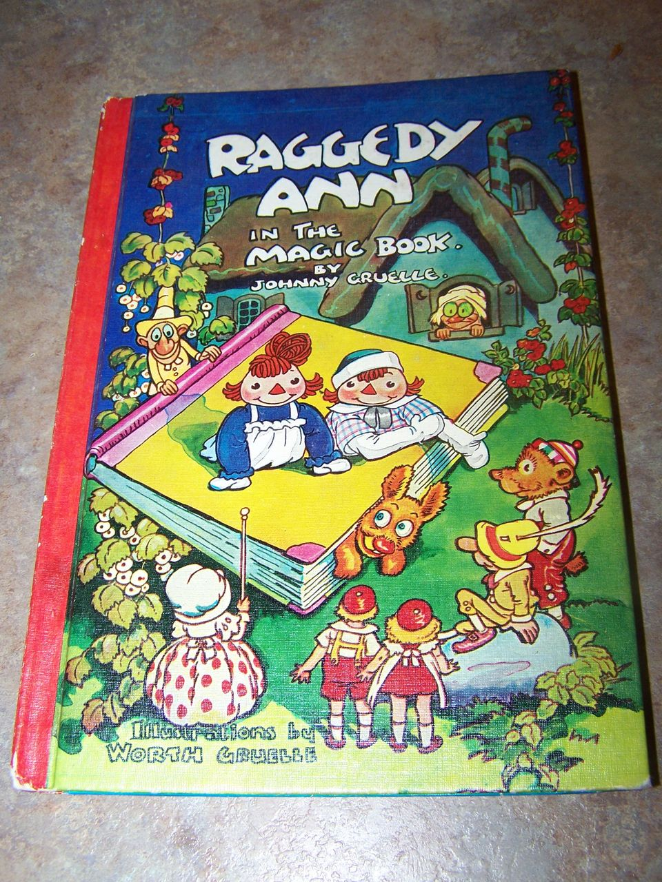 Raggedy Ann In The Magic Book By Johnny Gruelle