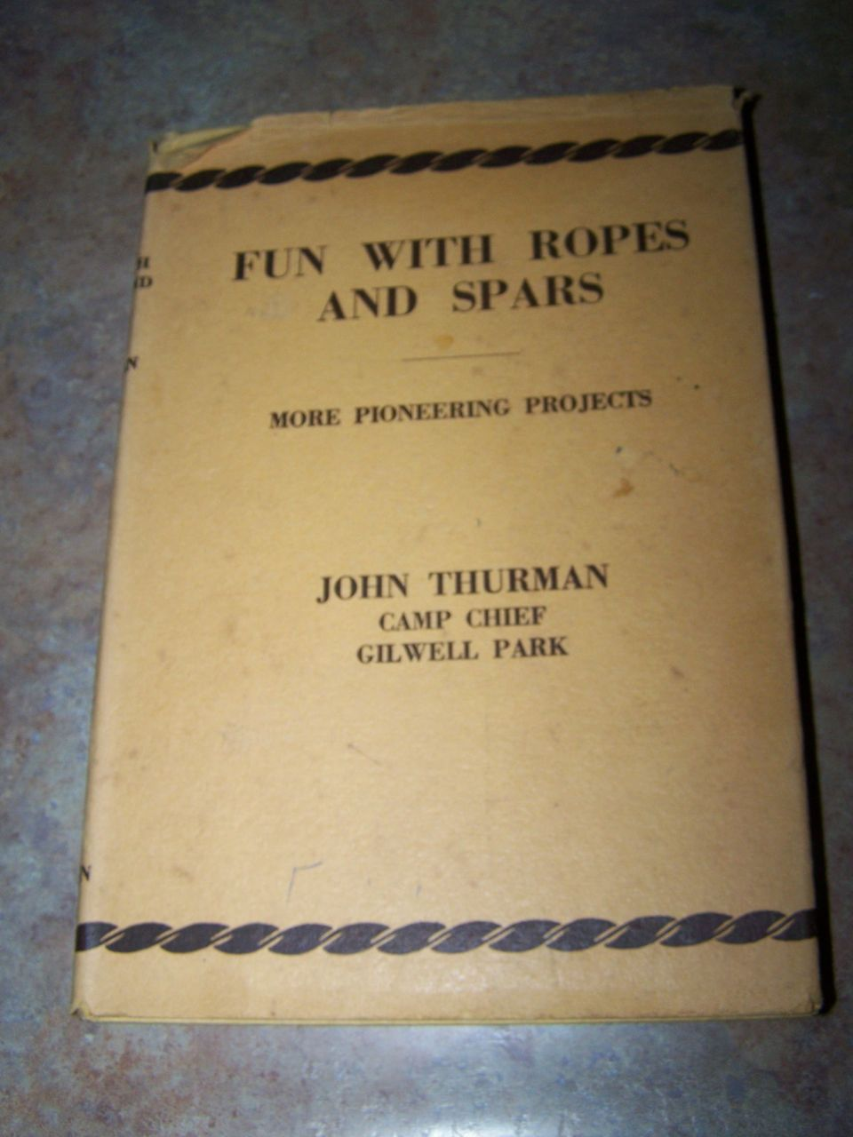 H.C. Book Fun with Ropes and Spars C. 1956