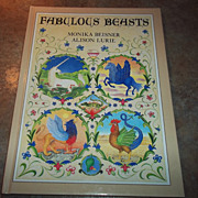 "Hard Bound Book "" Fabulous Beasts "" C. 1981"