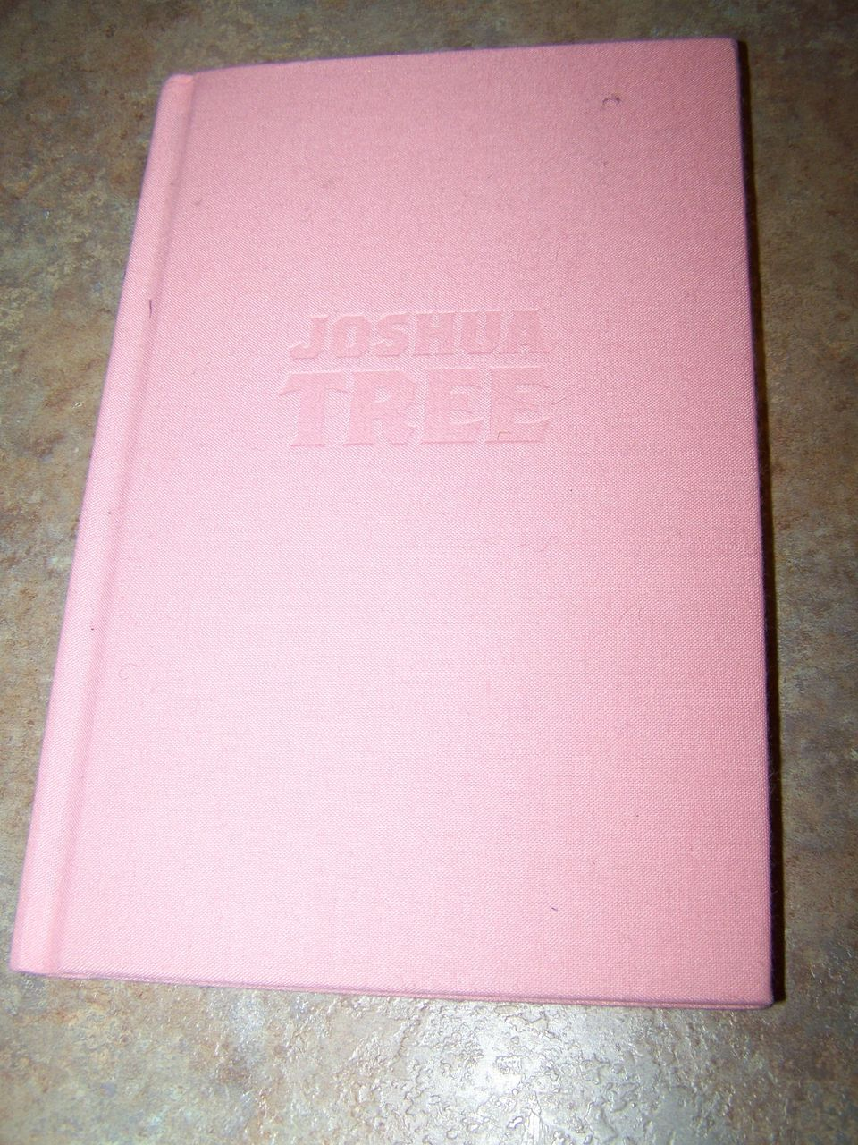 "H.C. Book Titled "" Joshua Tree"" C. 2001 Tribute to Gram Parsons"