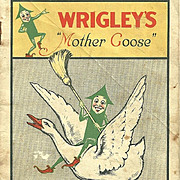 A Vintage Advertising Premium Booklet Wrigley's Mother Goose