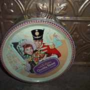 An Empty Collectible  Vintage Advertising Tin Can Mackintosh's Quality Street
