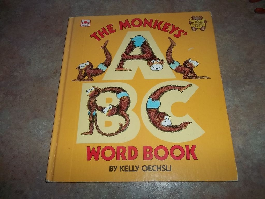The Monkey's Work Book By Kelly Oeschsli C. 1982