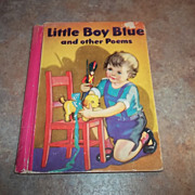 Little Boy Blue and other Poems Childrens Book H.C.