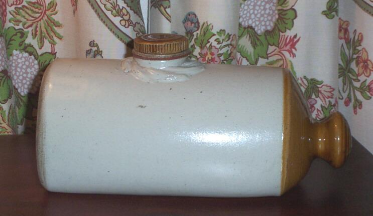 Keep Warm ! Vintage Stone Ware Foot Warmer