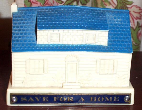 Souvenir Home Bank With Key First Federal Flint