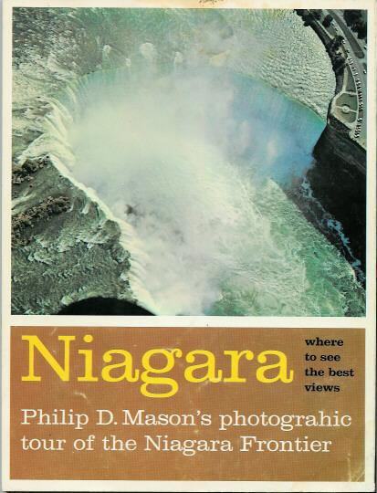 Old Souvenir Soft Covered Book Niagara Falls  Canada 1965