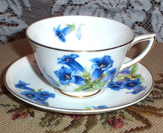 Royal Doulton Bone China Cup & Saucer Floral Motif