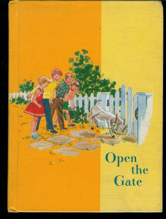 School Text Book Open The Gate Ginn Reader