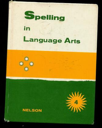 Nelson Grade 4 Spelling In Language Art Book