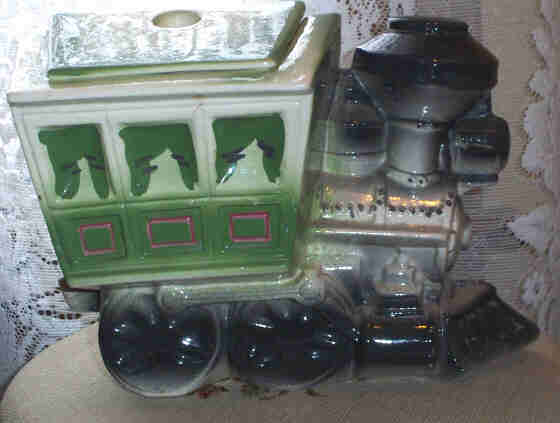 HUGE Maurice Ceramic of California Locomotive Train Cookie Jar