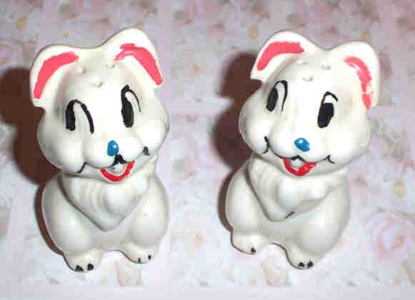 Potter Disney  Bunny Rabbit Thumper Salt & Pepper Shakers Leeds