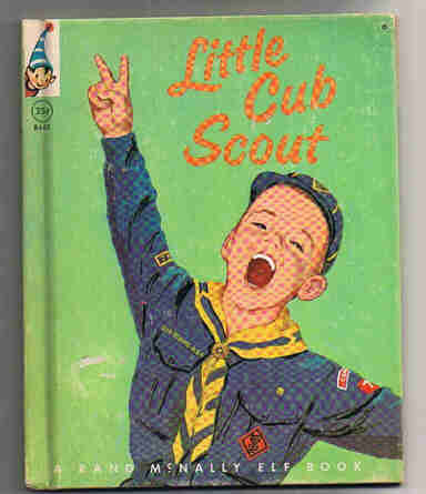 Little Cub Scout Child's Book 1964 Elf Rand McNally
