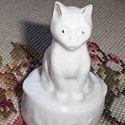 Crested China Ware Kitty ~^..^~  Cat Luck Figurine Sylvan China Duraco Hanley