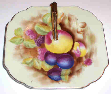 Hand Painted Occ. Japan Fruit Lemon Server