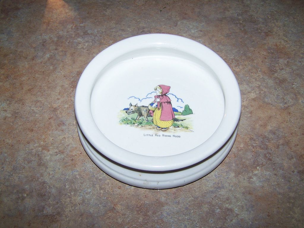 Little Red Riding Hood Vitrified Hotel Ware Cereal/ Porridge Bowl
