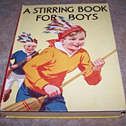 "C Blackie & Son LTD C.1953 Book"" A Stirring Book for Boys """