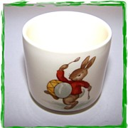 Bunnykins Egg Cup Drummer & Hiking Bunnies