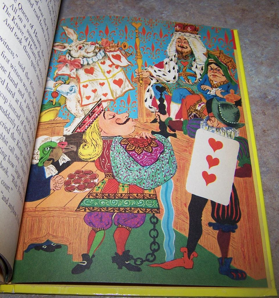 Adventure From The Original Alice In Wonderland Book