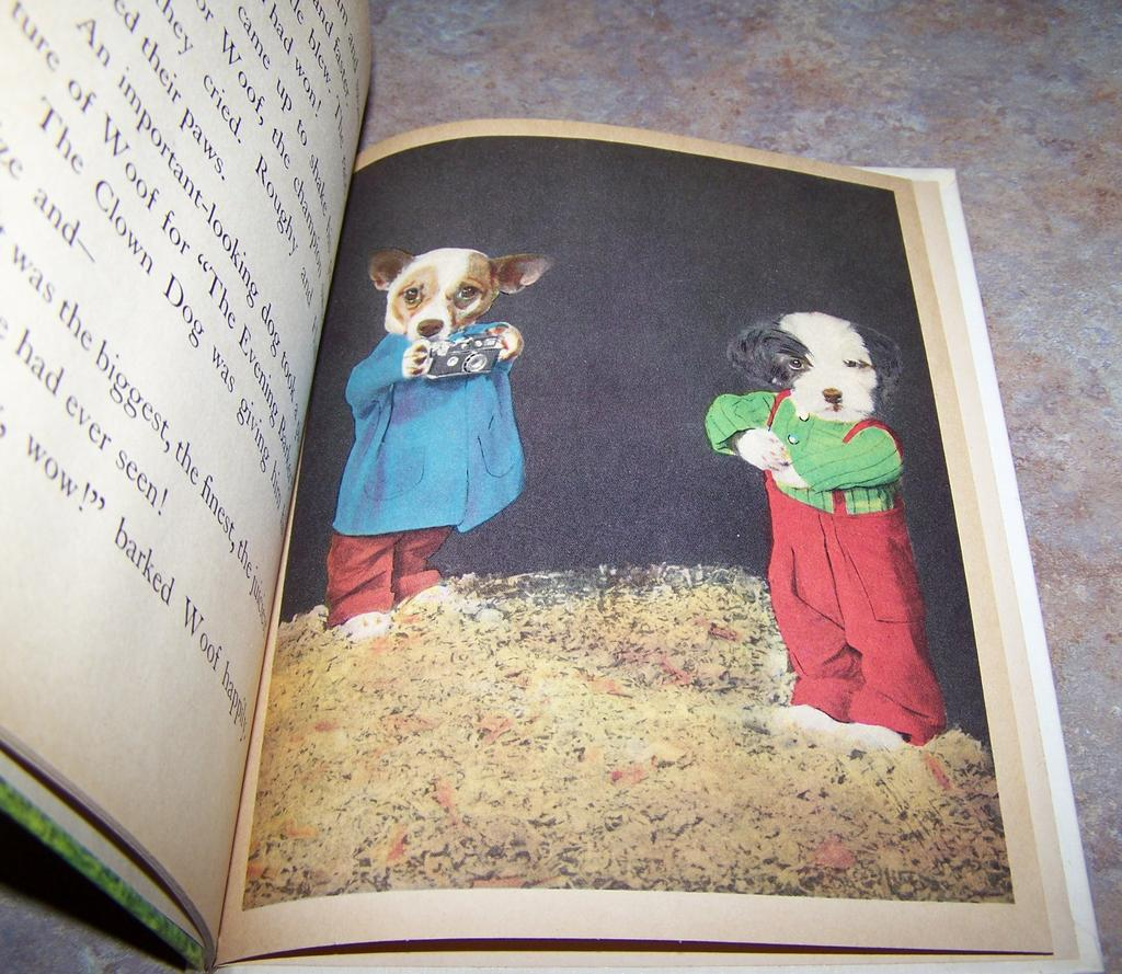 Three Little Puppies Tip Top Elf Book Rand McNally