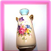 Miniature Floral Vase Paragon Double Warrant