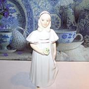 Royal Doulton Bone China Figurine Bridesmaid HN 2874