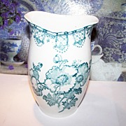 Aesthetic Movement  Era Toothbrush Holder / Vase Floral Motif