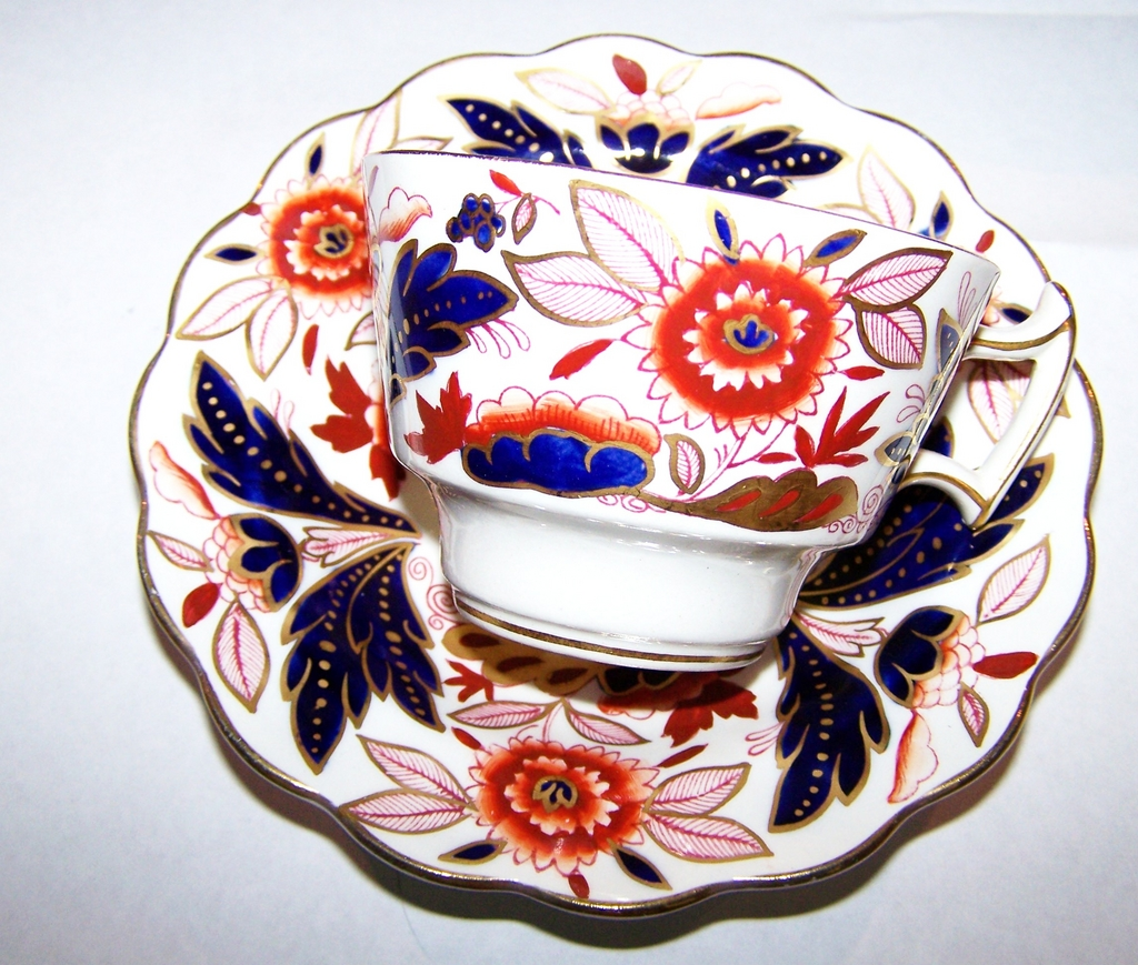 Booths MIE Dovedale Tea Cup & Saucer
