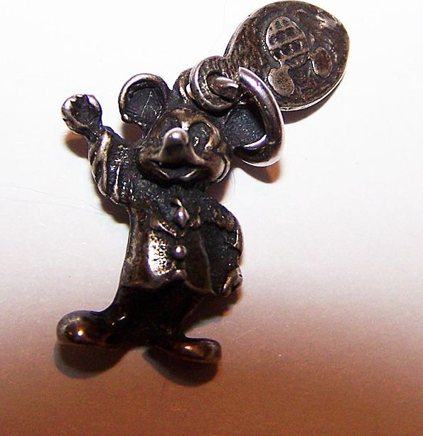 Vintage WDP Mickey Mouse Sterling Charm