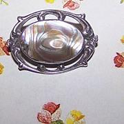 Lovely Little Abalone Blister Pin Sterling