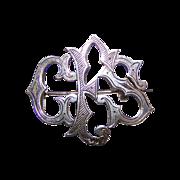 Unique Sentimental Token of Love Monogram Pin Initials GES