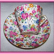 Marina Lord Nelson Chintz Tea Cup & Saucer