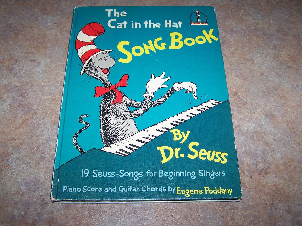 The Cat in the Hat Song Book Dr. Seuss C. 1967
