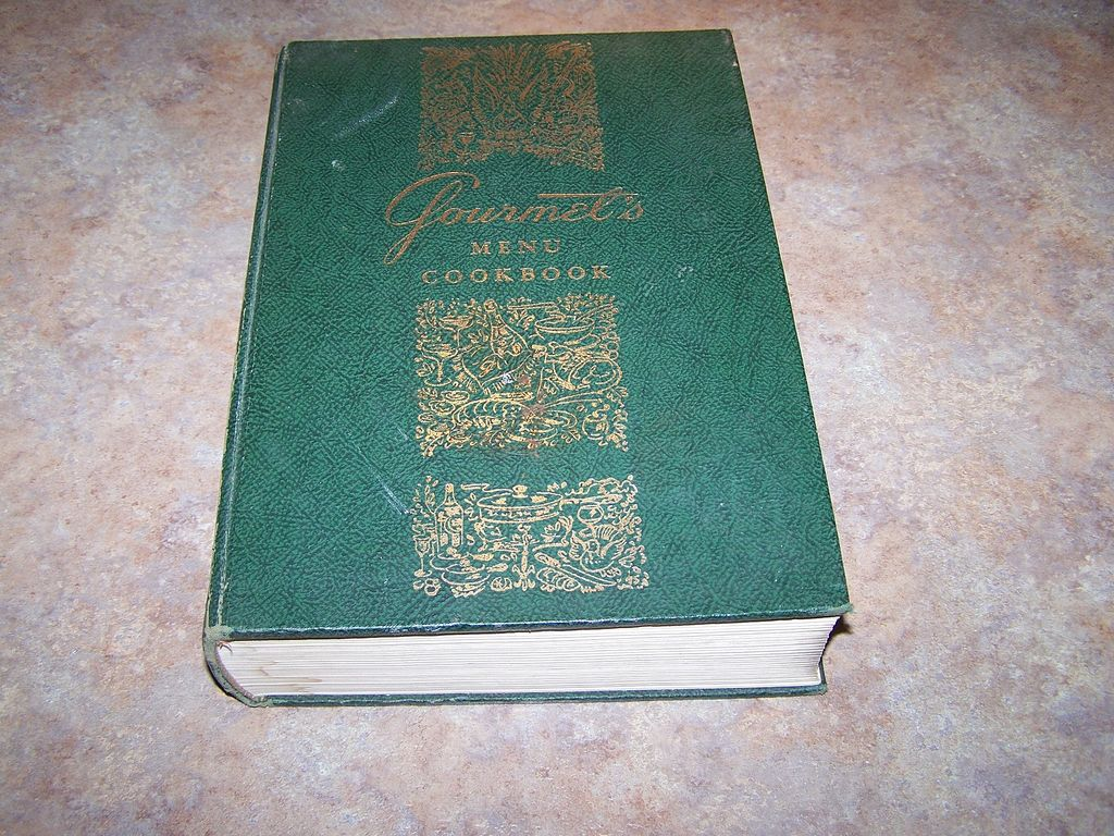 Gourmet's Menu Cook Book C. 1972